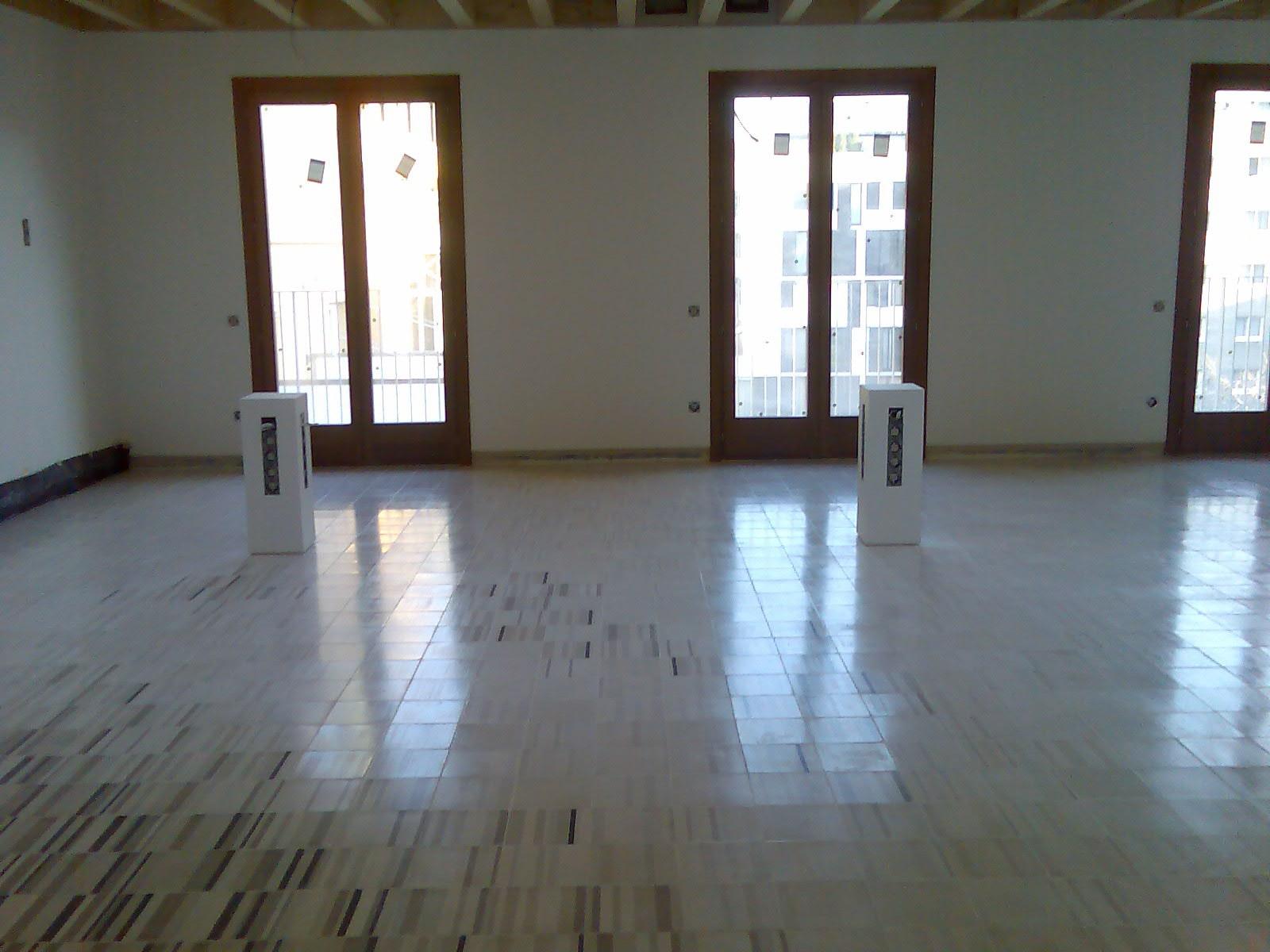 pulido pavimentos mosaicos hidráulicos